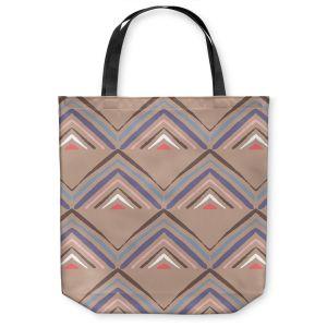 Unique Shoulder Bag Tote Bags | Traci Nichole Design Studio - Market Pyramid Cafe | Patterns Boho Chic