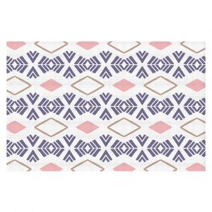 Decorative Floor Coverings | Traci Nichole Design Studio - Market Stripe Tart | Patterns Southwestern