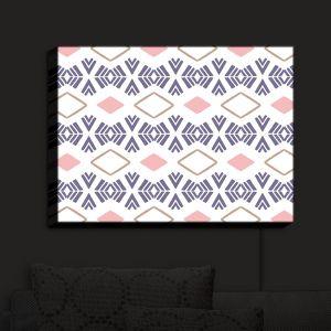 Nightlight Sconce Canvas Light | Traci Nichole Design Studio - Market Stripe Tart