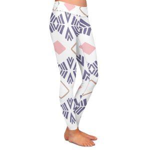 Casual Comfortable Leggings | Traci Nichole Design Studio - Market Stripe Tart | Patterns Southwestern