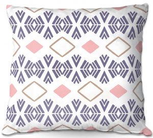 Decorative Outdoor Patio Pillow Cushion | Traci Nichole Design Studio - Market Stripe Tart | Patterns Southwestern