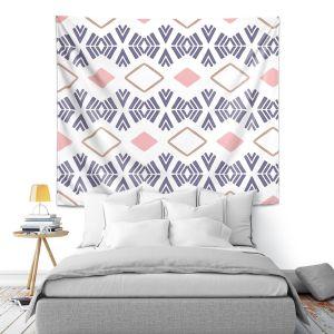 Artistic Wall Tapestry | Traci Nichole Design Studio - Market Stripe Tart | Patterns Southwestern