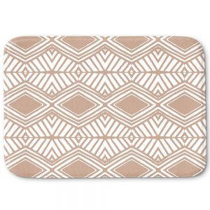 Decorative Bathroom Mats | Traci Nichole Design Studio - Market Diamond Cafe | Patterns Southwestern