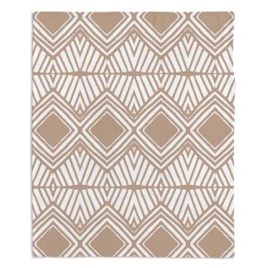 Artistic Sherpa Pile Blankets | Traci Nichole Design Studio - Market Diamond Cafe | Patterns Southwestern