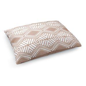 Decorative Dog Pet Beds   Traci Nichole Design Studio - Market Diamond Cafe   Patterns Southwestern