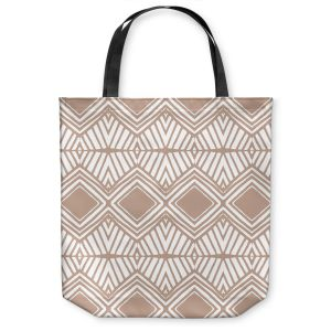 Unique Shoulder Bag Tote Bags | Traci Nichole Design Studio - Market Diamond Cafe | Patterns Southwestern