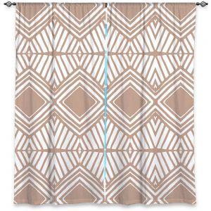 Decorative Window Treatments | Traci Nichole Design Studio - Market Diamond Cafe | Patterns Southwestern