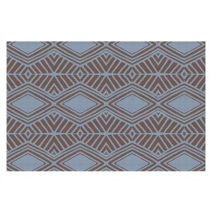 Decorative Floor Coverings | Traci Nichole Design Studio - Market Diamond Shadow | Patterns Southwestern