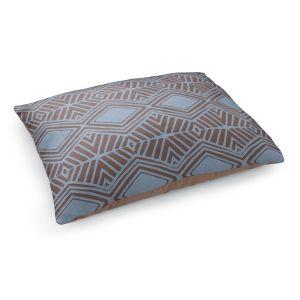 Decorative Dog Pet Beds   Traci Nichole Design Studio - Market Diamond Shadow   Patterns Southwestern