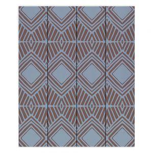 Decorative Wood Plank Wall Art   Traci Nichole Design Studio - Market Diamond Shadow   Patterns Southwestern
