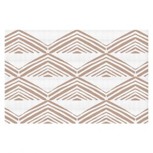 Decorative Floor Coverings | Traci Nichole Design Studio - Market Mono Pyramid Cafe | Patterns Southwestern