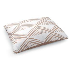 Decorative Dog Pet Beds   Traci Nichole Design Studio - Market Mono Pyramid Cafe   Patterns Southwestern