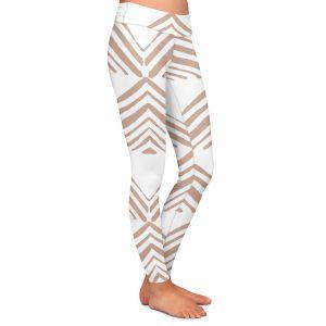 Casual Comfortable Leggings | Traci Nichole Design Studio - Market Mono Pyramid Cafe | Patterns Southwestern