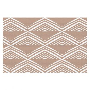 Decorative Floor Coverings | Traci Nichole Design Studio - Market Mono Pyramid Cafe ConLeche | Patterns Southwestern