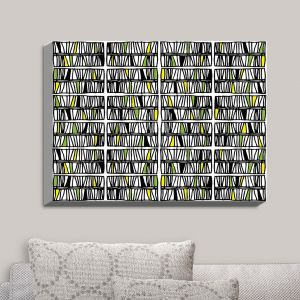 Decorative Canvas Wall Art | Traci Nichole Design Studio - Scratch Multi | Patterns