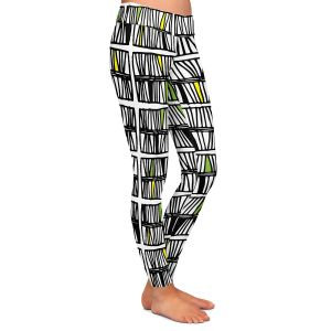 Casual Comfortable Leggings | Traci Nichole Design Studio - Scratch Multi