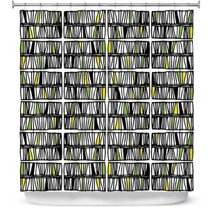 Premium Shower Curtains | Traci Nichole Design Studio - Scratch Multi