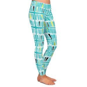Casual Comfortable Leggings | Traci Nichole Design Studio - Scratch Ocean