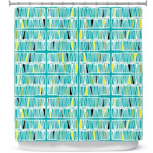 Premium Shower Curtains | Traci Nichole Design Studio - Scratch Ocean