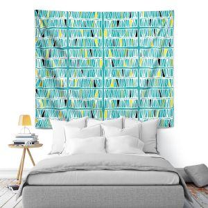 Artistic Wall Tapestry | Traci Nichole Design Studio - Scratch Ocean
