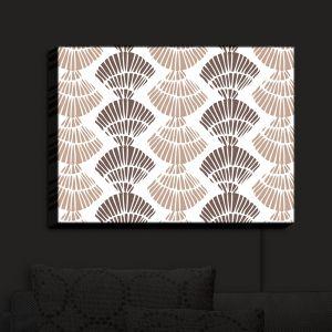 Nightlight Sconce Canvas Light | Traci Nichole Design Studio - Seashell Latte