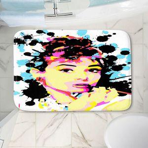 Decorative Bathroom Mats | Ty Jeter - Audrey Hepburn