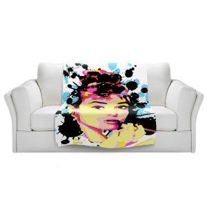 Artistic Sherpa Pile Blankets   Ty Jeter - Audrey Hepburn