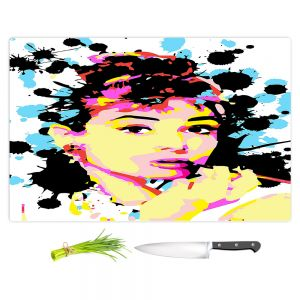 Artistic Kitchen Bar Cutting Boards | Ty Jeter - Audrey Hepburn