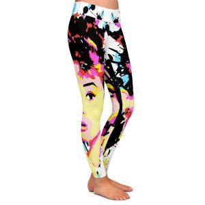 Casual Comfortable Leggings | Ty Jeter - Audrey Hepburn