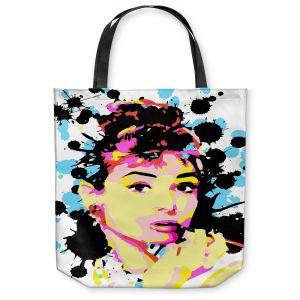 Unique Shoulder Bag Tote Bags | Ty Jeter - Audrey Hepburn