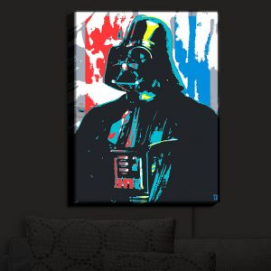 Unique Illuminated Wall Art 14 x 11 from DiaNoche Designs by Ty Jeter - Darth Vader