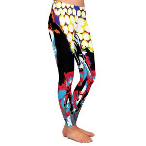 Unique Leggings XS from DiaNoche Designs by Ty Jeter - Gene Simmons