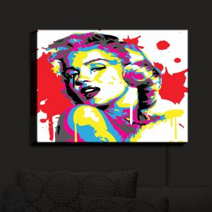 Nightlight Sconce Canvas Light | Ty Jeter - Marilyn Monroe III