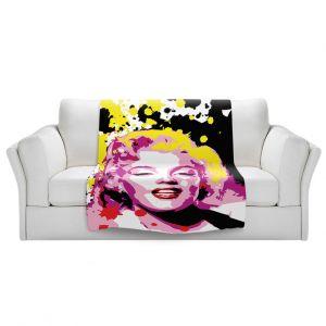 Artistic Sherpa Pile Blankets | Ty Jeter - Marilyn Monroe lV