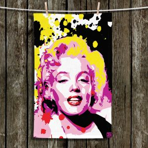 Unique Hanging Tea Towels | Ty Jeter - Marilyn Monroe lV | Famous Actress Passions Movie Stars