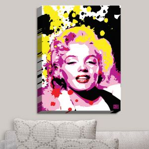 Decorative Canvas Wall Art | Ty Jeter - Marilyn Monroe IV | Famous Actress Passions Movie Stars