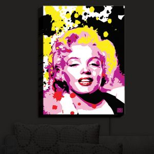 Nightlight Sconce Canvas Light | Ty Jeter - Marilyn Monroe IV | Famous Actress Passions Movie Stars