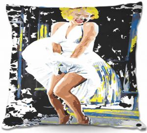 Decorative Outdoor Patio Pillow Cushion | Ty Jeter - Marilyn Monroe I