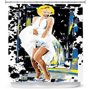 Premium Shower Curtains | Ty Jeter Marilyn Monroe