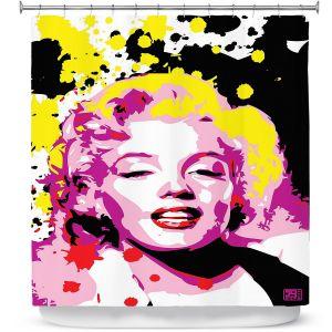 Premium Shower Curtains | Ty Jeter - Marilyn Monroe lV