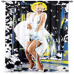 Decorative Window Treatments   Ty Jeter Marilyn Monroe