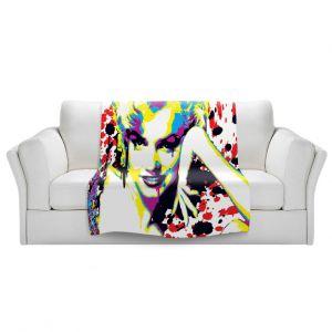 Artistic Sherpa Pile Blankets | Ty Jeter - Marilyn Monroe V