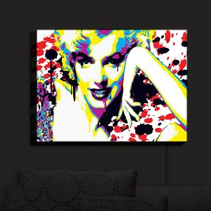 Nightlight Sconce Canvas Light | Ty Jeter - Marilyn Monroe V | Marilyn Monroe Actress Famous