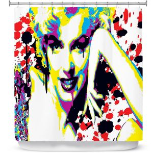 Premium Shower Curtains | Ty Jeter - Marilyn Monroe V