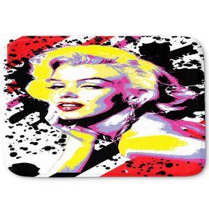 Decorative Bathroom Mats | Ty Jeter - Marilyn Monroe VI | pop art celebrity famous model portrait