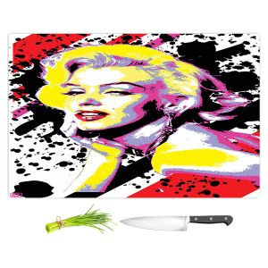 Artistic Kitchen Bar Cutting Boards | Ty Jeter - Marilyn Monroe VI | pop art celebrity famous model portrait
