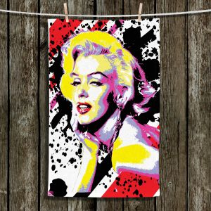 Unique Hanging Tea Towels | Ty Jeter - Marilyn Monroe VI | pop art celebrity famous model portrait