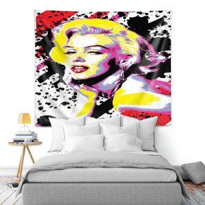 Artistic Wall Tapestry | Ty Jeter - Marilyn Monroe VI | pop art celebrity famous model portrait
