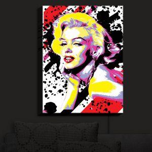 Nightlight Sconce Canvas Light   Ty Jeter - Marilyn Monroe VI   pop art celebrity famous model portrait