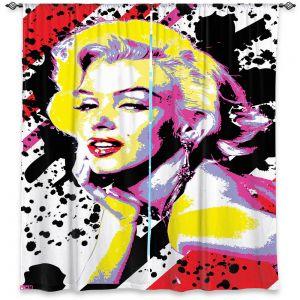 Decorative Window Treatments   Ty Jeter - Marilyn Monroe VI   pop art celebrity famous model portrait